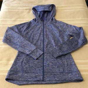 EUC purple C9 workout hoodie size small